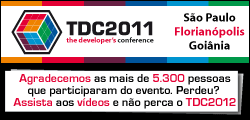 The Developers Conference 2011, um evento organizado pela Globalcode